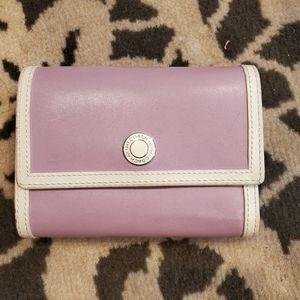 Lilac medium sized Coach wallet